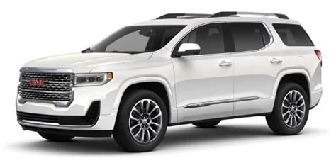 When Will 2020 Gmc Acadia Be Available by 2020 Gmc Acadia Color Options Carl Black Kenensaw