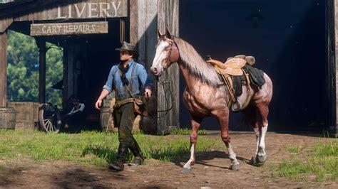 dead redemption horses screenshots rdr2 hunting ps4 gamespot order play pre