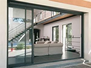 Porte à Galandage Prix : porte fen tre coulissante galandage en aluminium ~ Premium-room.com Idées de Décoration