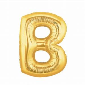 gold letter b balloon gold letter balloon 40 With 40 gold letter balloons