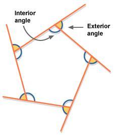 bbc gcse bitesize angle properties  polygons
