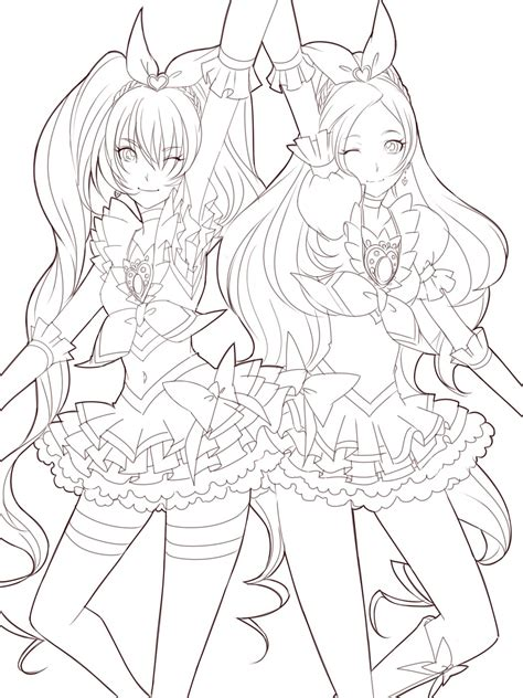 Detailed Anime Coloring Pages at GetColorings com Free