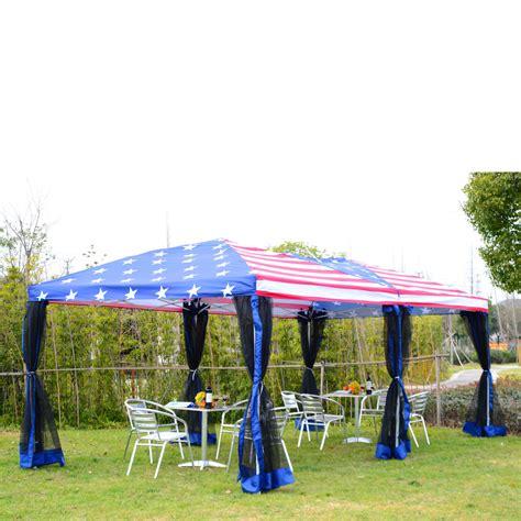 ez pop  party wedding tent patio gazebo canopy outdoor mesh  flag bag  ebay