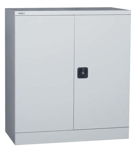 Metal Storage Cupboards by Metal Office Storage Cupboard 1016mm Assembled And Lockable
