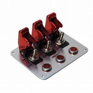 Toggle Switch Cover  12v Led Light Toggle Switch Panel