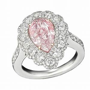 Wedding rings for women pink wedding rings for women for Pink diamond wedding rings