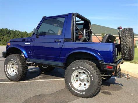 suzuki jeep 4 door purchase used 1994 suzuki samurai jl sport utility 2 door