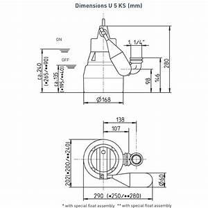 U5k Submersible Sump Pump - U5k 230v Manual