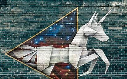 Street Graffiti Origami Brick Tech Japan Widescreen