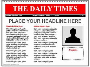 3 good ipad newspaper templates for teachers educational With google docs newspaper article template