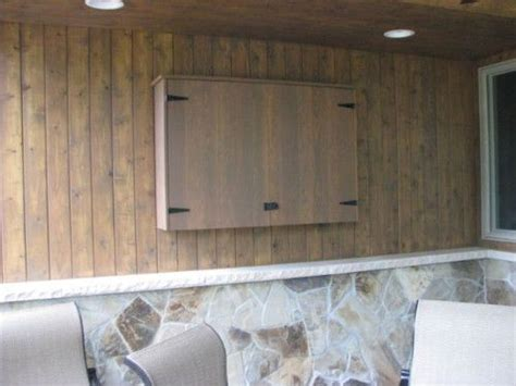 outdoor tv wall mount cabinet outdoor tv cabinet outdoor ideas pinterest wall