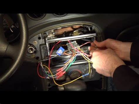 2000 Mustang Gt Tp Wiring by Installing An Aftermarket Car Radio