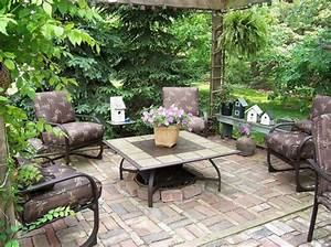 Landscape design ideas with patios patios can be appealing too for Patio garden design