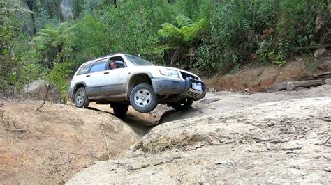 subaru leone off road subaru forester off road bunyip rock climb part 3 of 3