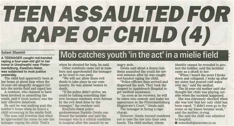 The Sowetan And The Star Protects The Identities Of