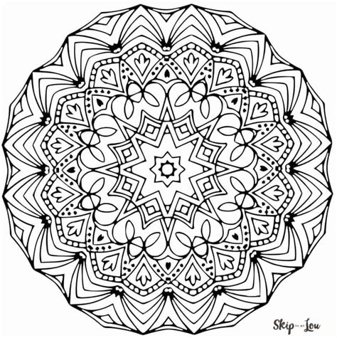 mandala coloring page color your stress away with mandala coloring pages skip