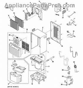 Parts For Ge Ahg40lkg1  Dehumidifier Parts