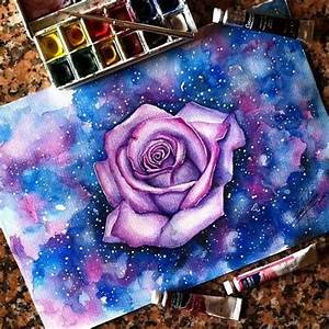 Drawing flowers, Galaxies and Dibujo on Pinterest