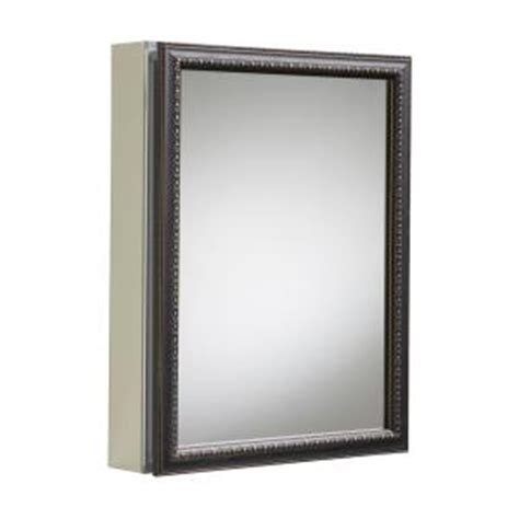 Home Depot Recessed Medicine Cabinets by Kohler 20 In X 26 In H Recessed Or Surface Mount