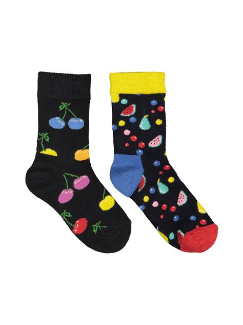 Best reviews guide analyzes and compares all bugatti socks of 2020. 9002-MULTICOLOR Happy Socks Kids Cherry -sukat 2-pack   24 ...
