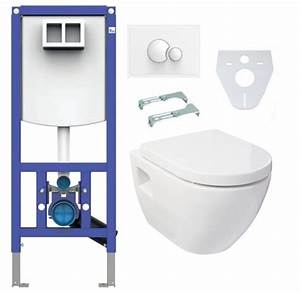 Wand Wc Komplettset : sanit ineo plus vorwandelement design wand wc mit activ ~ Articles-book.com Haus und Dekorationen