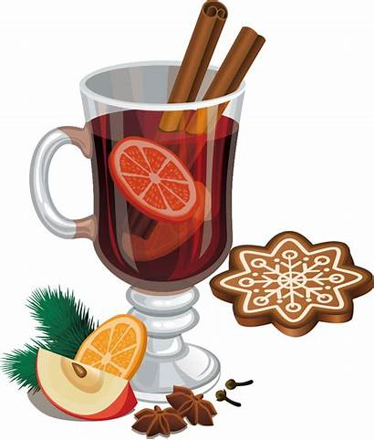 Drink Clipart Spice Apple Mixed Wine Mulled