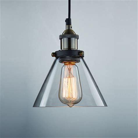 industrial glass pendant light industrial vintage glass l shade pendant ceiling light