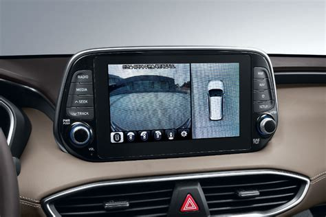 hyundai santa fe interior cabin advanced backup