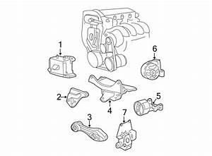 Chevrolet Cavalier Automatic Transmission Mount  Liter