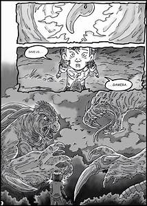 Godzilla vs. Gamera - Page 1 by kaijukid on DeviantArt