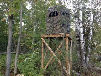 crossbow hunting blinds michigan