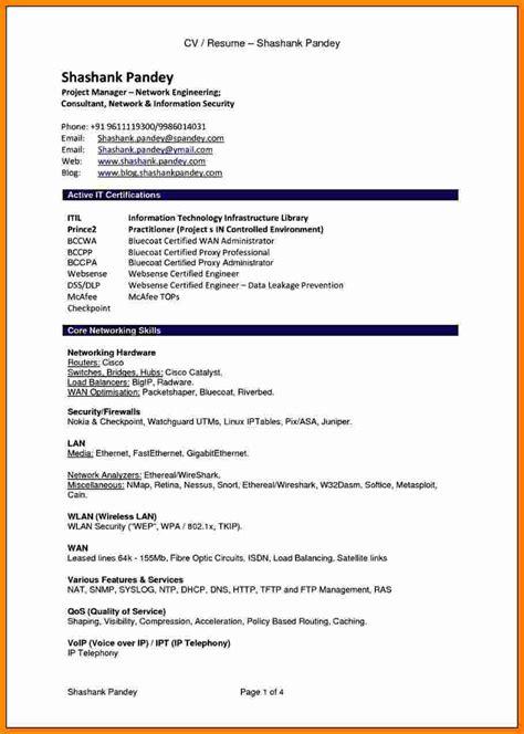 cv resume sample  theorynpractice