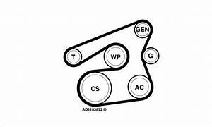 2014 Ford Fiesta Serpentine Belt