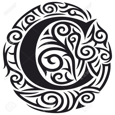 Tatouage Lettre Alphabet Tribal  Galerie Tatouage