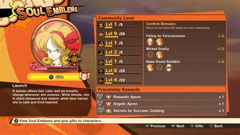 community kakarot dragon ball soul board emblems guide rounded well