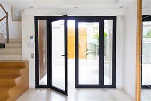 portes fenetres sur mesure porte fenetre pvc porte With porte d entrée pvc avec porte fenetre alu sur mesure