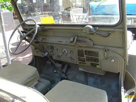 willys jeepster interior 1952 willys jeep m 38 interior gtcarlot com