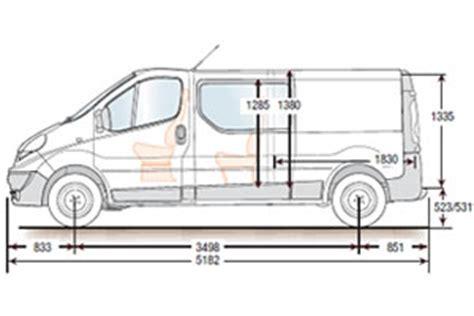 renault trafic dimensions renault master van load dimensions