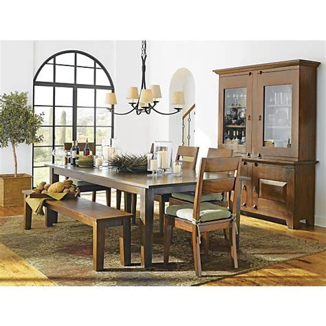 crate and barrel basque dining room set basque honey 104 quot dining table in dining kitchen tables