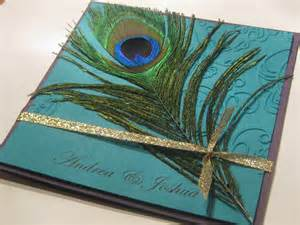 sted by romo peacock feather wedding invitations - Peacock Wedding Invitations