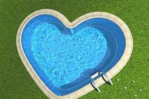 piscines insolites voyage pulse With piscine en forme de coeur