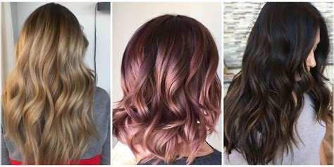 Ideas For Coloring Hair by Hair Color Ideas And Styles For 2018 Best Hair Colors