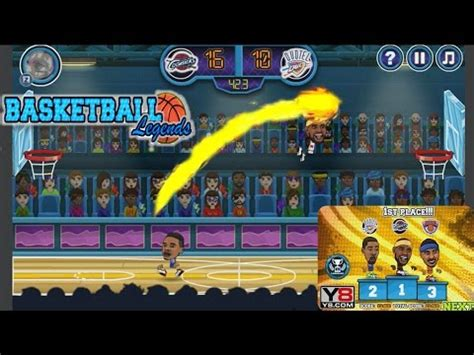 basketball legends basketball games ycom newbie