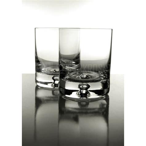 verres en cristal 224 whisky verres 224 whisky en cristal saga verre whisky bulle fond verre