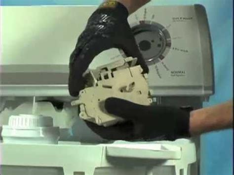 washer timer pressure switch repair youtube