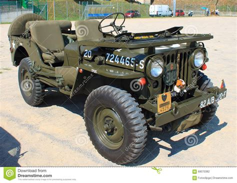 jeep american the american jeep world war ii editorial photography