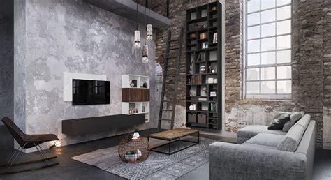 Meubles De Salon Contemporains Esprit Loft Modèle