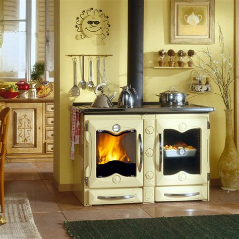the burning kitchen wood burning cook stove la nordica quot america quot cooking