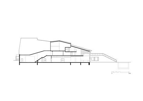 bureau culturel 钁e gallery of espace culturel victor jara l 39 escaut architectures bureau d études