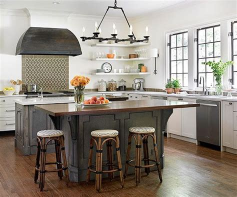 kitchen island with seating for 3 good idea for island gets seating on 3 sides while saving on some floor space choose
